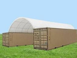 20'x40' Shipping Cargo Container Conex Fabric Building Canva
