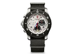 Victorinox Men's 241680.1 Analog Display Swiss Quartz Black