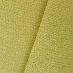 Antique Green Linen Canvas, Fabric By The Yard