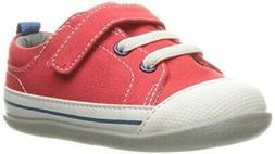 See Kai Run Baby Boy Stevie 2 Fabric  , Red Canvas,  Size In
