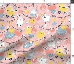 Baby Kids Newborn Babies Shower Gift For Fabric Printed by S
