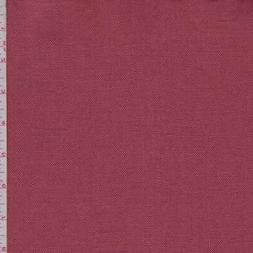 Brick Red Linen Blend Canvas, Fabric By The Yard
