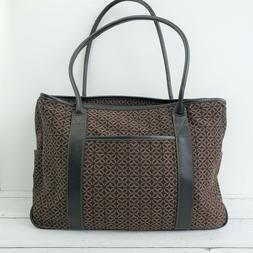 RELIC by FOSSIL Brown Laptop Shoulder Work Bag Tote Padded S