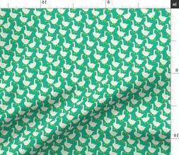Goose Bird Kids Pajama Baby Fabric Printed by Spoonflower BT
