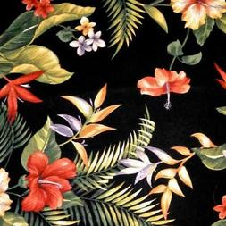 Hawaiian Print Home Decor Cotton Canvas by John Wolf for Ric