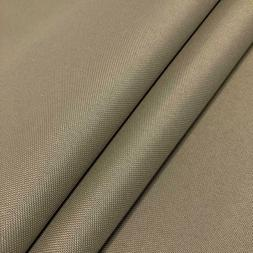 """KHAKI COTTON Canvas Duck Fabric 8.5 OZS 64"""" WIDE CLOTHING UP"""