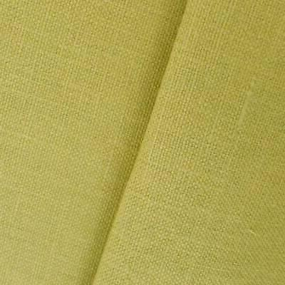 antique green linen canvas fabric by