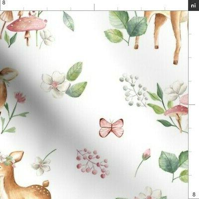 Baby Deer Fawn Forest Woodland by