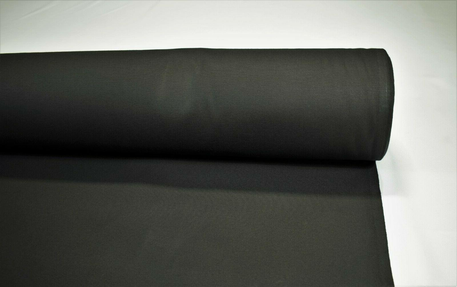 Black 100% Water Duck 10 Upholstery