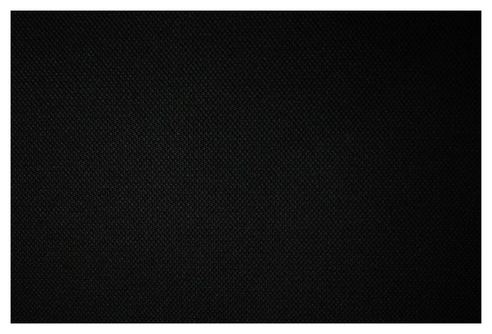 black automotive upholstery poly canvas fabric 63