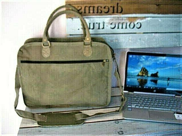 COMPUTER Shoulder Bag Military Tent by