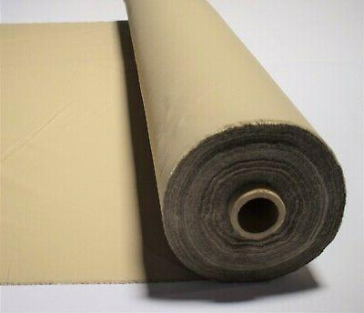 "Khaki Sand Fabric Poly 65"" By"