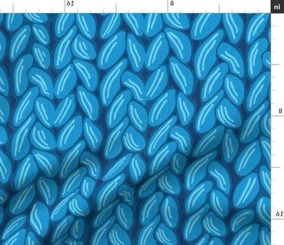 knitting thread hobby sweater fabric printed by
