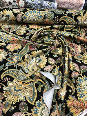 Metallic Linen Fabric By The