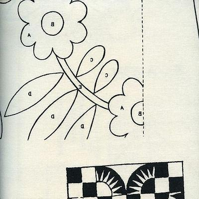 Quilt Blocks Sew Instruction Pattern Canvas With Love Fabric