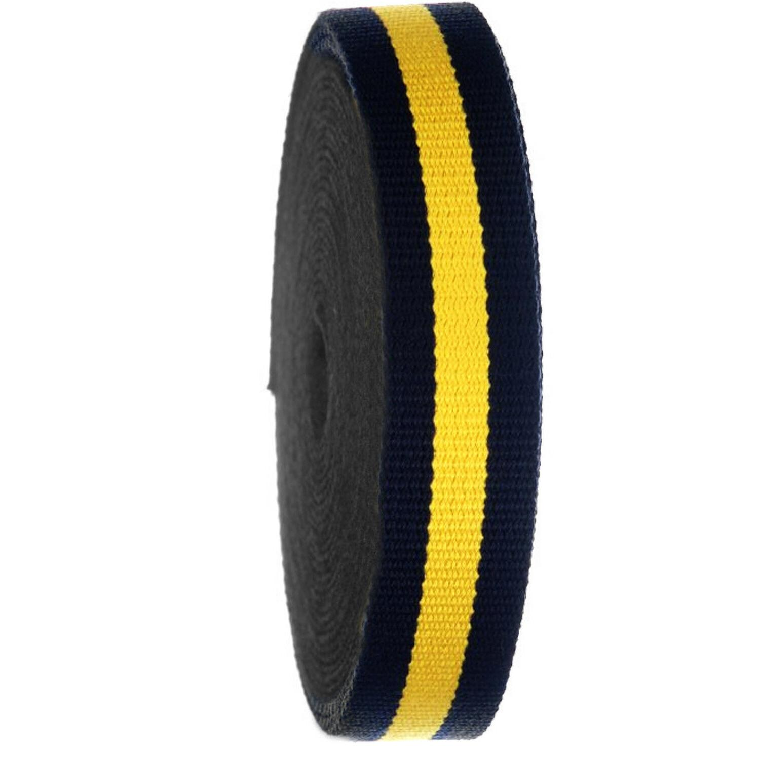 Striped Roll Strap Belts,