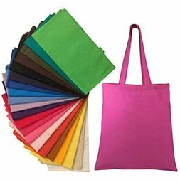 Natural Cotton Canvas Tote Bags Bulk Plain Fabric For Crafts