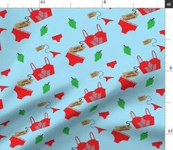 New Year Years Eve Traditions Fabric Printed by Spoonflower