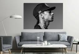 Nipsey Hussle American Rapper Canvas Style Black and White D