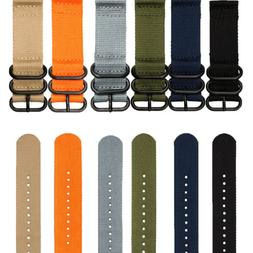 INFANTRY Nylon Fabric Wrist Watch Band Strap Heavy Duty Ring