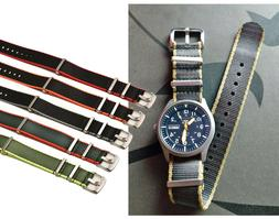 Nylon Watchband Watch Strap Band For Casio Seiko Orient Tiss