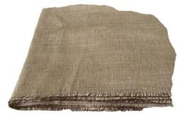 Opaque gold Solid Jacquard Soft Canvas Look Fabric  Silk Gol