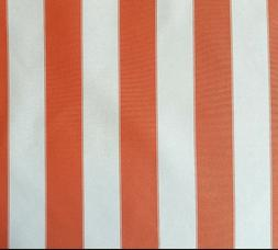 "OUTDOOR FABRIC Upholstery Canvas 600 Denier 60"" ORANGE CREAM"