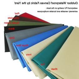 Canvas Fabric By The Yard, Waterproof Outdoor Fabric,UV Resi