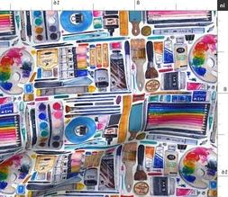 Painting Art Supplies Paints Brushes Hobbies Fabric Printed