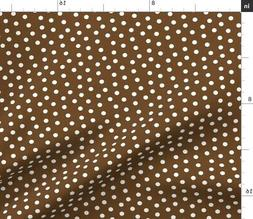 Pin Dot Mini Tossed Dots Fabric Printed by Spoonflower BTY