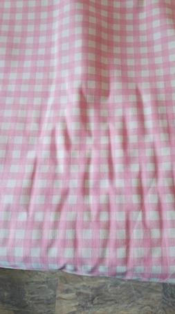 Premier Prints Pink Checker DUCK CANVAS Fabric by the yard