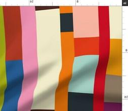 Solids Bold Colorful Bright Cheater Quiltdc Fabric Printed b