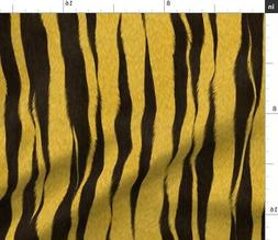 tiger stripe yellow black stripes animal print