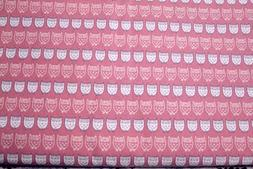 Traditional Owls Kokka Japan Cotton Canvas 100% Cotton Fabri