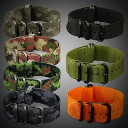 INFANTRY Wrist Watch Fabric Nylon Canvas Strap Band Belt 5 R